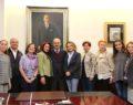 Beşiktaş kent Konseyi'nden  Başkan Büyükerşen'e ziyaret