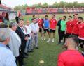 Başkan aslan'dan takıma moral ziyareti