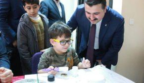 AK Parti başkanlarından gençlik merkezine ziyaret