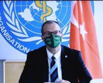 Dünya Sağlık Örğütü'nden Türkiye'ye tebrik