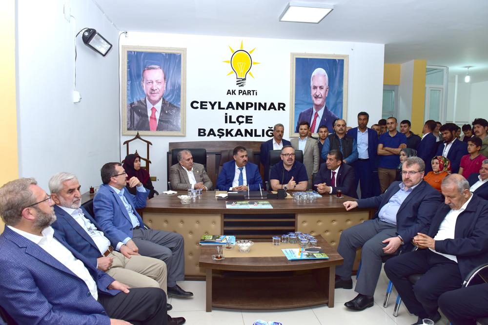 KİT Komisyonu Ceylanpınar TİGEM'de İncelemelerde Bulundu