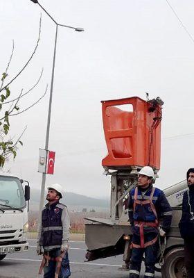 Çalışanlarına sahada iş sağlığı ve güvenlik (İSG) eğitimi