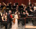 Senfonide Eskişehirli solistler ayakta alkışlandı