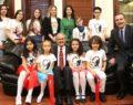 Büyükerşen'in minik ziyaretçileri