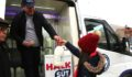 Halk süt satış aracı hizmete başlıyor