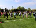 Kadınlar güne spor yaparak başlıyor