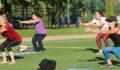Kadınlar, sağlıklı yaşam için sabah akşam spor diyor