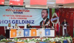 Baydilli, Karaköprü kadın kolları kongresine katıldı