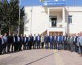 Karaköprü Belediyesin'den Kardeş Belediyeye Ziyaret