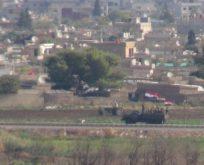 Devriye atan rejim askerleri görüntülendi