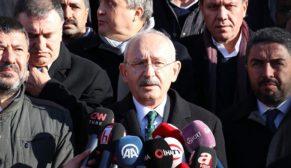 Kılıçdaroğlu, Malatya'da deprem bölgesinde