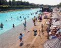 Eskişehir plajı'na yoğun ilgi