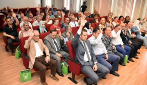 Kent Konseyi'nde muhtarlar temsilcilerini seçti