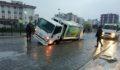 Şanlıurfa'da yağmurla birlikte ortaya çıkan manzara korkuttu