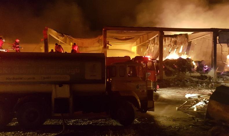 Şanlıurfa'da yangın haberi yaralılar var