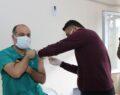 Şanlıurfa'da virüs aşısı yapılmaya başlandı