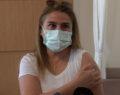 Sağlık çalışanlarının eşleri aşılanmaya başladı