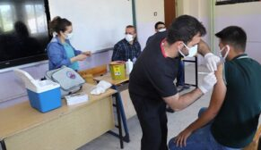 Şanlıurfa da aşı seferberliği devam ediyor