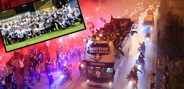 Adana Demirspor,  26 yıl aradan sonra Süper Lig'e çıktı