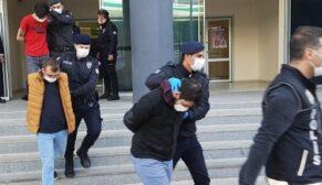 Şafak baskını: 9 tutuklu