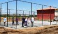 Akçakale kırsalında spor tesisi atağı