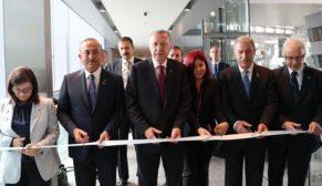Cumhurbaşkanı Recep Tayyip Erdoğan, NATO Karargahında