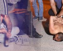 Alkollü şahıs polislere zor anlar yaşattı