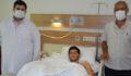 Eli parçalanan hasta Şanlıurfa'da sağlığına kavuştu