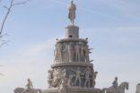 Geleceğe ışık tutacak ulus anıtı açıldı