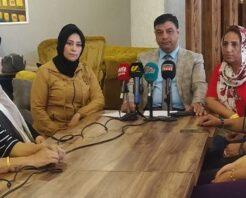 İl Başkanı Halil Aslan, kadın kolları ile bir araya geldi