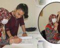 Şanlıurfa'da anne ve kızın okuma azmi