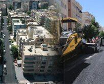 Şanlıurfa'da asfalt çalışmaları bölgenin hizmetine sunuluyor
