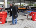 Haliliye'de tıbbi atık kutuları konumlandırıldı