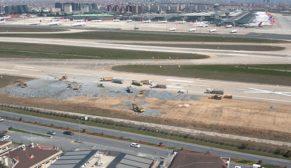 Atatürk Havalimanı'na bin yataklı hastane çalışmaları başladı