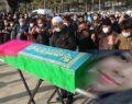 Lise öğrencisi Büşra son yolculuğuna uğurlandı