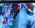 Babanın kızını bıçakladığı anlar güvenlik kamerasında
