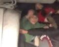 Bir aracın bagajına 5 kişi bindiler