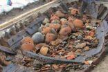 Balıkçıların ağlarına bin yıllık amforalar takıldı
