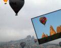 Kapadokya'da balon ile uçmak yasak