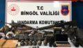 Bingöl'de silahlar ve mühimmat ele geçirildi