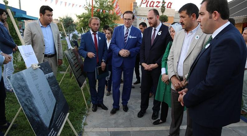 Eyyübiye belediyesi srebrenica kurbanlarını unutmadı