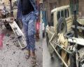 Bomba yüklü araç patladı: 4 ölü, 5 yaralı