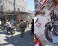 Bomba yüklü motosiklet patladı