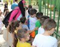 Anaokul öğrencileri sokak hayvanları bakım evini ziyaret etti