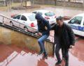 Camide hırsızlık yapan şahıs yakalandı