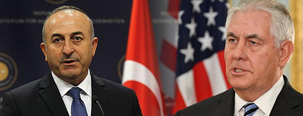 Çavuşoğlu-Tillerson görüşmesi sonrası  ortak açıklama