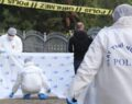 Mezarlıkta ceset bulundu