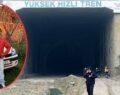 Tünelde yanmış erkek cesedi bulundu