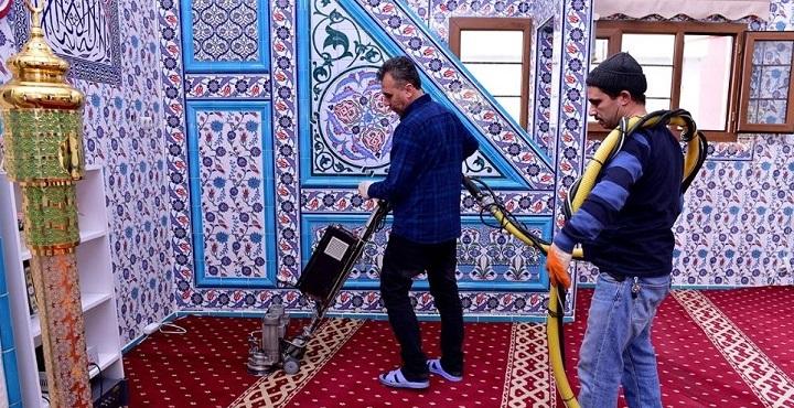 Haliliye'den Ceylanpınar'a temizlik desteği