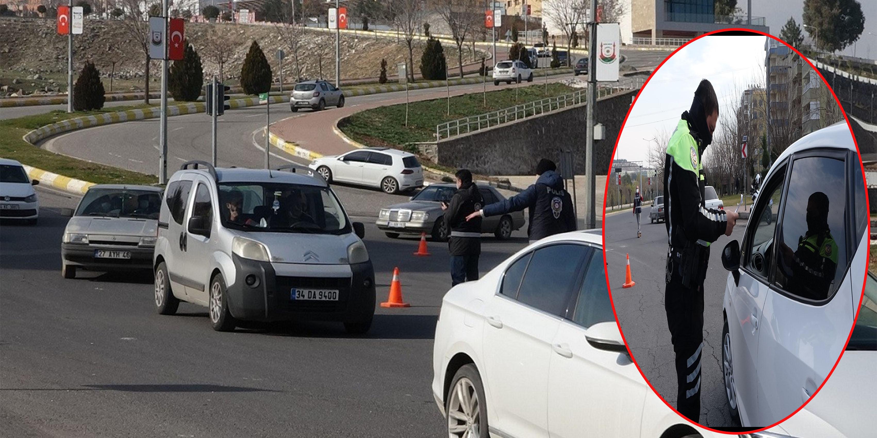 Şanlıurfa'da kısıtlamaya uymayanlara ceza yağdı